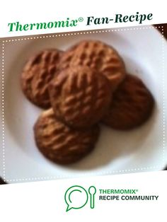 Hazelnut and Cinnamon Cookies by kazza. A Thermomix <sup>®</sup> recipe in the category Baking - sweet on www.recipecommunity.com.au, the Thermomix <sup>®</sup> Community.