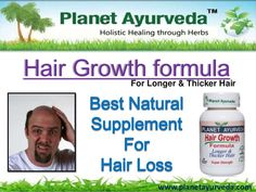Hair Growth Formula by Planet Ayurveda Planet Ayurveda Hair Growth Formula. Read full description here- http://www.planetayurveda.com/hair-growth-formula.htm