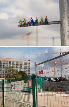 Little People in Paris: 5 Tiny Street Art Scenes by Slinkachu