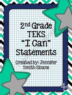 2nd Grade TEKS