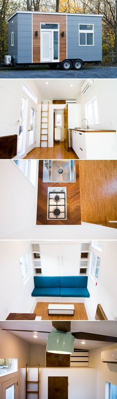The Mid-Centruy Modern: a 170 sq ft tiny house from Liberation Tiny Homes