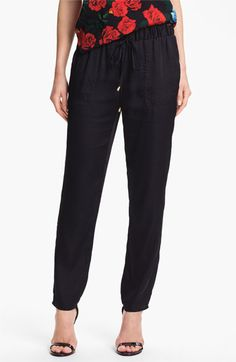 Vince Camuto Drawstring Waist Pants available at #Nordstrom