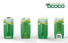 DCOCO Coconut Water on Packaging of the World - Creative Package Design Gallery
