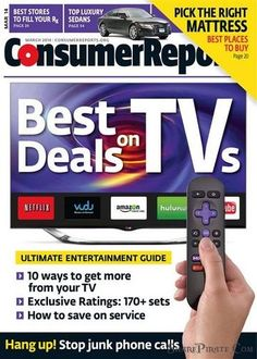 Consumer Reports – March 2014