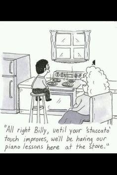 Musical humor from my Aunt Terri... :-). Lolololol!!!
