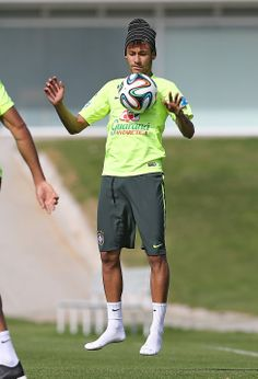 Treino da manhã 14/06/2014 - Seleção Brasileira