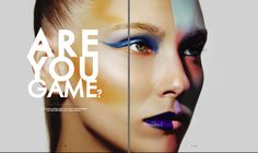 Maquiagem Artística #3   Artistic Makeup #3 Blue