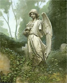 When love is lost, do not bow your head in sadness; instead keep your head up high and gaze into heaven for that is where your broken heart has been sent to heal. ~ Unknown, (Broken Angel ~ by Michael Whelan)