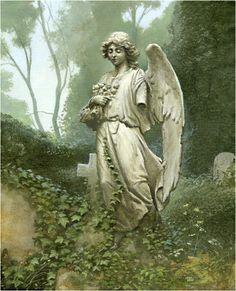 """Angels:  """"Broken #Angel,"""" by Michael Whelan."""
