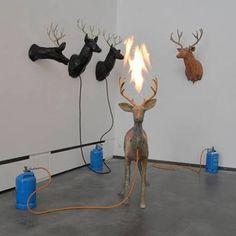 Dennis Oppenheim, Untitled (Deer)