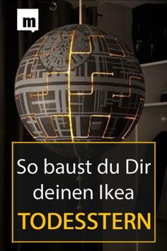 """Star Wars"" monster is unfortunately expensive Fortunately, the Swedish furniture giant has, albeit unknowingly, a solution The post Video tutorial: IKEA lamp becomes Death Star appeared first on Woman Casual - Home Inspiration"