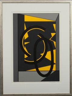 SAM VANNI, serigrafi, T.P. sign. och dat. -88.