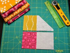 Here is a quick tutorial for Flying Geese really written as instructions for my fellow Stitch Teasers since its my month to be Queen Bee. I...