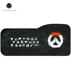 2017Overwatch 730 * 330 * 3mm Mouse Pad Gaming Mouse Pad High Quality Expansion Mousepad Profession For Overwatch Free Shipping