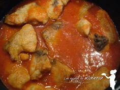 Las Recetas de Malena: Bonito en salsa de tomate