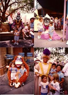 56 Amazing Disney Theme Park Photos Disney Theme, Disney Disney, Disney Magic, Disney Parks, Disney Movies, Vintage Disneyland, Disneyland Trip, Disney Vacations, Face Characters