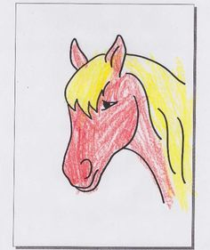 Horse Colouring Page - Free Printable