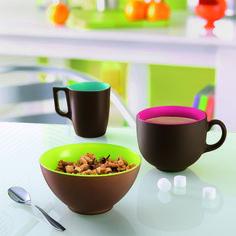 Nouvelle collection Luminarc Daily Mat !  Mugs, bols et tasses multico pour un petit déjeuner vitaminé !  www.luminarc.com  #Breakfast #Luminarc #mug #petitdej