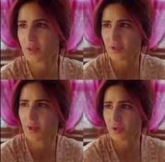Katrina Kaif in Fitoor #Redhair #Sad #crying #beautiful
