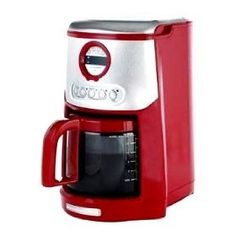 Best Reviews KitchenAid Empire Red and Stainless Steel Digital clock/timer JavaStudio 14-Cup Glass Carafe Programmable Coffeemaker with Gold Tone Coffee filter and Water Filter included. for Best Buy.    Read More Reviews Click On Link: http://www.amazon.com/gp/product/B005FSHD9S/?tag=hdtv0a1-20
