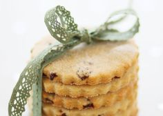 Easter Biscuits. Traditionally made on Easter Sunday and given as a gift, these lightly spiced, currant studded round biscuits have a delicious flavour and sugary crunch.