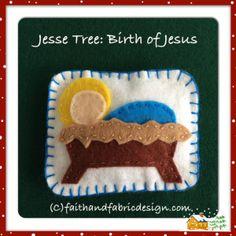 Jesse Tree: Baby Jesus, Birth of Christ