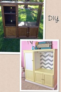 Old dresser turned into wardrobe closet precious do it yourself diy ag armoire out of an old entertainment center solutioingenieria Gallery