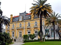 The Pestana Palace, a luxury hotel located in a residential area of Lisbon, Portugal - LA Times, July 2013
