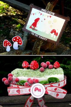 Red Riding Hood Inspired Birthday Party