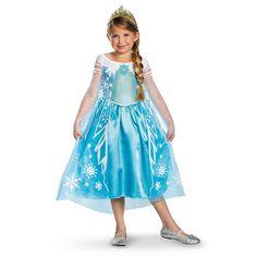 Disguise Disney's Frozen Elsa Deluxe Girl's Costume, 4-6X