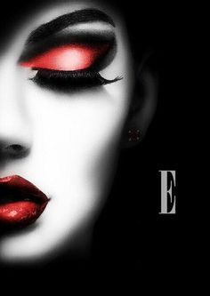 Ravishing Red makeup