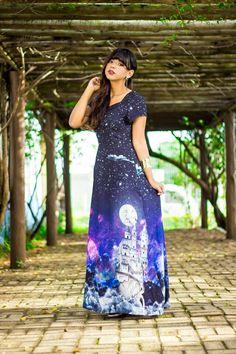 Look da Maanuh,  Vestido constelação