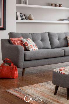 Biba 4 seater sofa