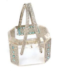 Lucite bag - Carole Tanenbaum Vintage Collection