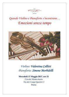"""Scuola di Musica Ciampi BLOG: Concerto al Circolo Montecitorio: """"Quando VIOLINO ..."""