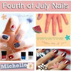 132. Fourth of July Nail Designs