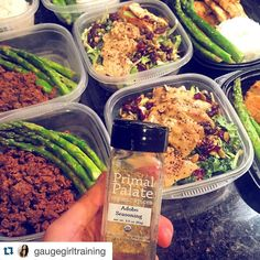 Are you SUPER busy and need Meal Prep help and tips? Follow @gaugegirltraining - she's a real pro AND uses #primalpalatespices too!  #Repost @gaugegirltraining with @repostapp.  Check out one of my favorite meal prep spices from @primalpalate rocking their amazing adobo seasoning which is a blend of pink Himalayan salt garlic onion black pepper oregano and turmeric. This is completely organic gluten free preservative free and non-gmo. Skip over chemical laden spices and go for the good…