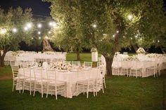 Wedding reception in Apulia countryside wedding among olive groves. #pugliawedding #destinationitaly #apuliawedding #weddingsinitaly #italyweddingplanner #weddingitaly #countrychicweddings #olivegrove #outdoorreception