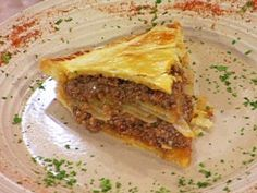 Miss Hilda's Meat and Potato Pie from CookingChannelTV.com