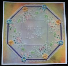 x Groovi Plate Groovi Plate™ (GP) Intricate and clever designs have been laser etched with precision into top quality acrylic plates, thereby allowi Hobbies And Crafts, Crafts To Make, Barbara Gray Blog, Embossing Tool, Parchment Cards, Clever Design, Plate Sets, Swirls, Crochet Projects