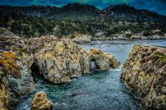 Pt Lobos nearBird Island looking at Gibson beach inlet. #enjoymontereybay #highwayone