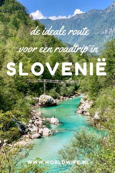 De ideale route voor een roadtrip in Slovenië Road Trip Europe, Europe Travel Tips, Travel Destinations, Visit Slovenia, Slovenia Travel, Bohinj, Places Worth Visiting, Vacation Trips, Adventure Travel