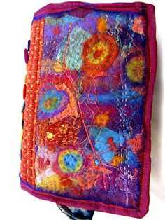 Fabric journal. Must see rest of this website!
