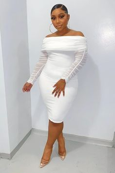 All White Party Dresses, Dinner Date Dresses, Dinner Outfits, Pretty Dresses, Cocktail Dresses, White Party Attire, Teen Dresses, Maxi Dresses, Dinner Outfit Classy