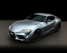 Toyota Reveals 2020 Supra TRD Performance Line Concept silver Performance Aero Kit racing Osaka Auto Messe car show Toyota Corolla, Tesla Motors, New Toyota Supra, Detroit, Toyota Racing Development, Automobile, Forged Wheels, New Bmw, Cars