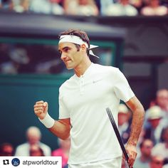 A record day for @rogerfederer!  #Federer beats #Cilic 6-3 6-1 6-4 to win his 8th @wimbledon  a 19th Grand Slam ! #ATP #tennis #wimbledon