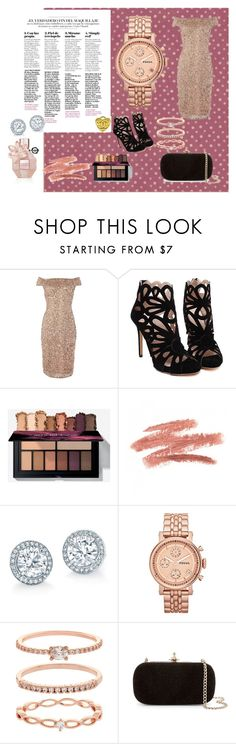 royal beig powered by VR by alaasalah on Polyvore featuring Adrianna Papell, Vivienne Westwood, FOSSIL and Accessorize follow instagram @glamour_instagram_