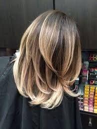 Image result for balayage straight hair shoulder length