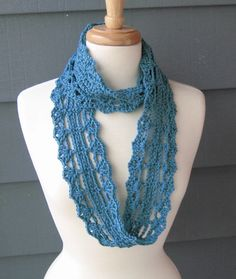 Make This Yourself - Crochet PATTERN - Instant PDF Download - Ella Rae Infinity Scarf