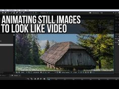 After Effects Tutorial - Animating still images to look like video - YouTube